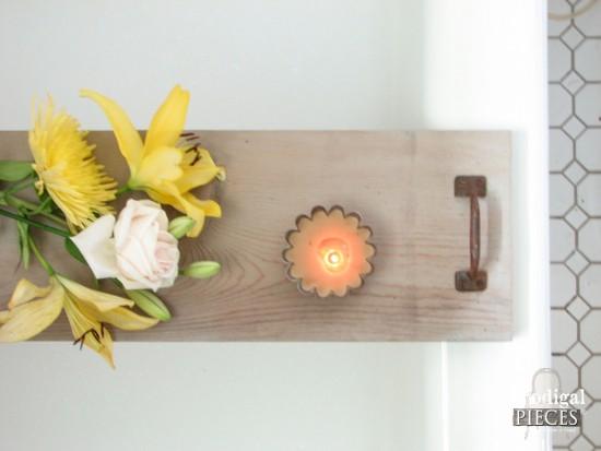Barn Wood Bathtub Tray by Larissa of Prodigal Pieces | prodigalpieces.com