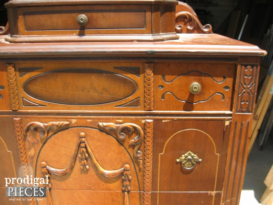 Carved Antique Chest of Drawers | prodigalpieces.com