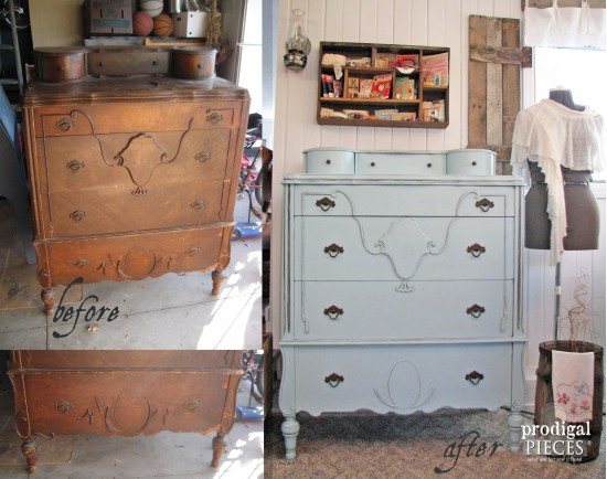 Antique Chest of Drawers Refinished | prodigalpieces.com