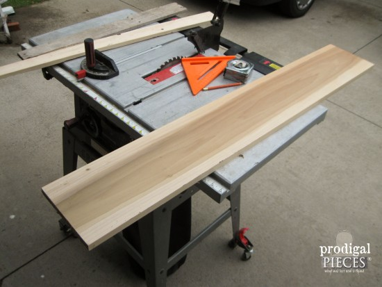 Poplar Wood for Bathtub Tray | prodigalpieces.com