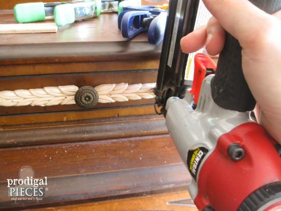 Nailing Wood Trim | prodigalpieces.com