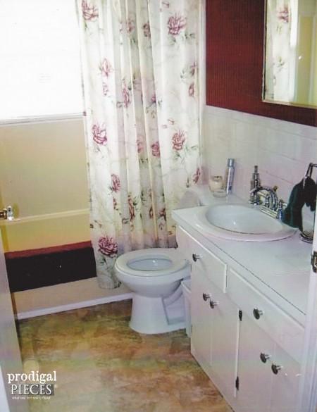 First Time Updating Bathroom | prodigalpieces.com