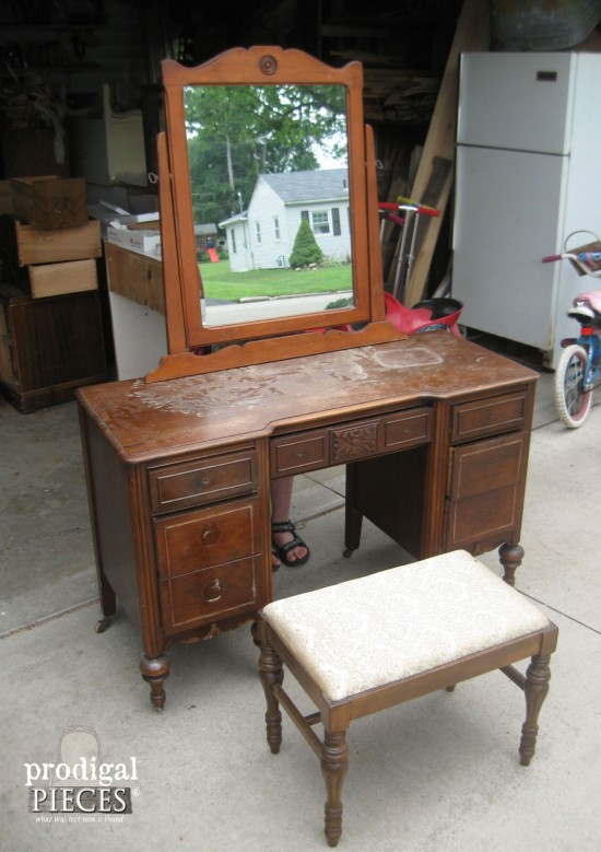 Curbside Find Vanity | Prodigal Pieces | prodigalpieces.com