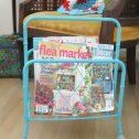 Close Up of Magazine Rack | Prodigal Pieces | prodigalpieces.com