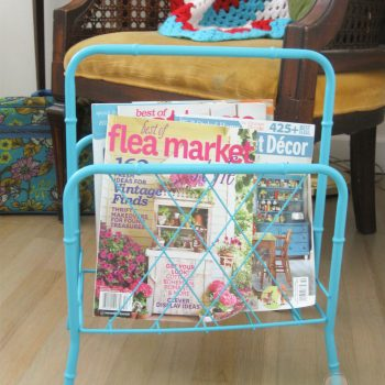 Close Up of Magazine Rack | Prodigal Pieces | prodigalpieces.com