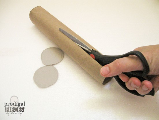 Paperboard Tube for DIY Zippered Pouch | prodigalpieces.com