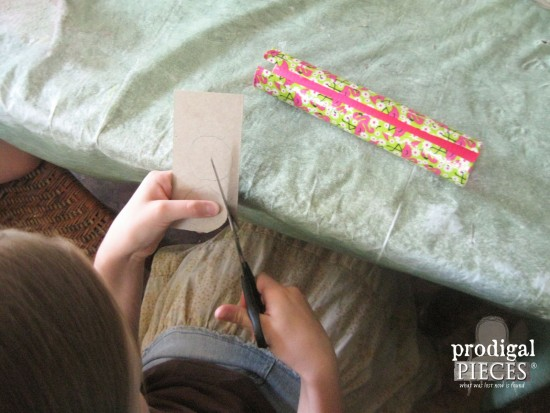 Kids Making Duct Tape Pouch | prodigalpieces.com