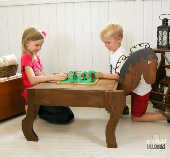 DIY Lego Game Table built by Larissa of Prodigal Pieces | prodigalpieces.com