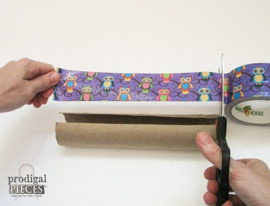 Cutting Wise Owl Duct Tape | prodigalpieces.com