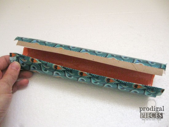 Creating Pencil Case from Duct Tape | prodigalpieces.com
