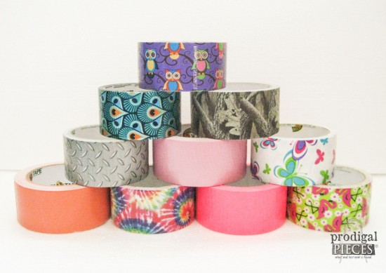 Stack of Duct Tape | prodigalpieces.com