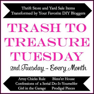 Trash to Treasure Transformations by 5 Awesome DIY Bloggers