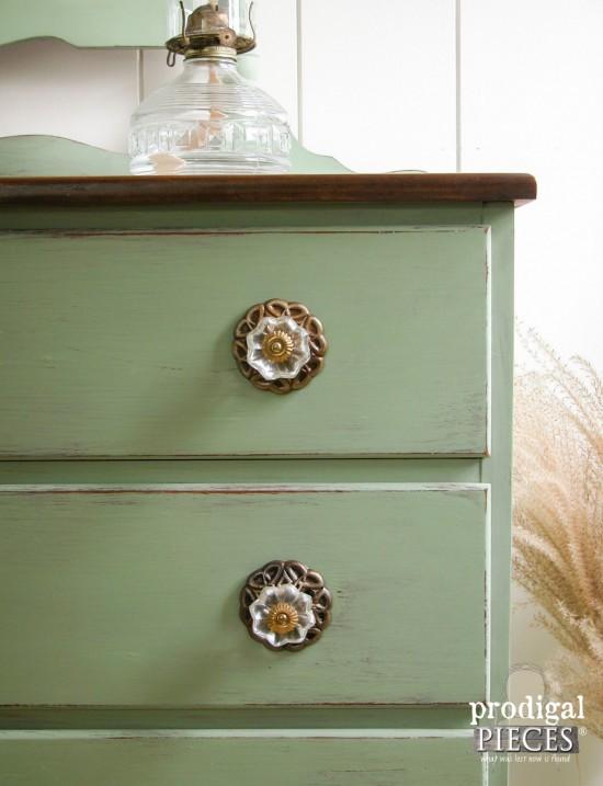 Ornate Glass Drawer Pulls | Prodigal Pieces | prodigalpieces.com