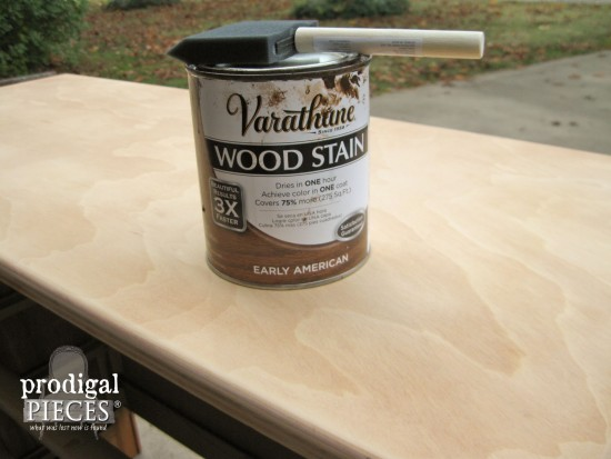 Early American Stain for Vintage Dresser Makeover by Prodigal Pieces | prodigalpieces.com