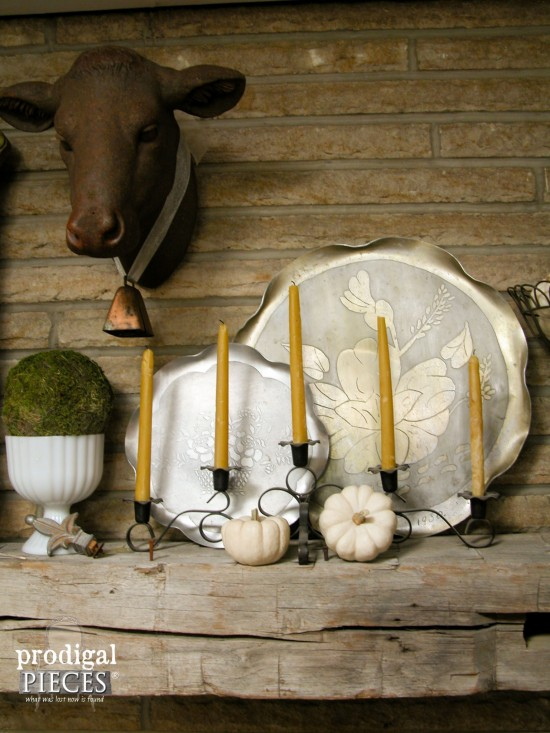 Natural Beeswax Candles by Larissa of Prodigal Pieces | prodigalpieces.com #prodigalpieces