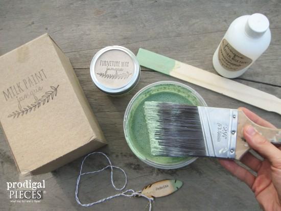 Jadeite Milk Paint Color | prodigalpieces.com