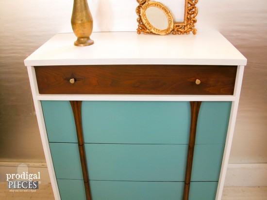 Mid Century Chest Makeover by Prodigal Pieces | prodigalpieces.com