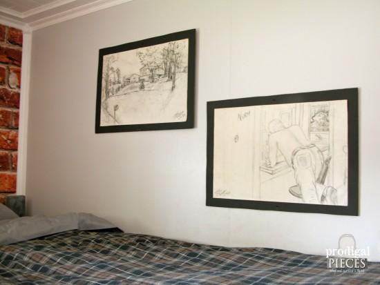 Charcoal Pencil Drawings | Prodigal Pieces | prodigalpieces.com