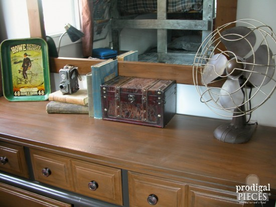 Vintage Industrial Style Decor by Prodigal Pieces | prodigalpieces.com
