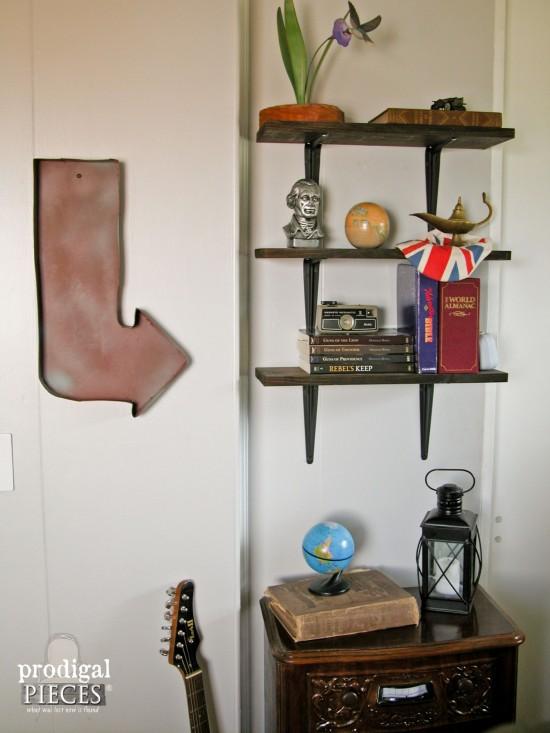 Industrial Style DIY Decor by Prodigal Pieces | prodigalpieces.com
