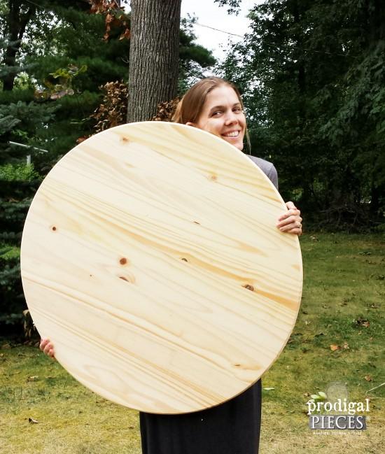 Bare Wood Round | prodigalpieces.com