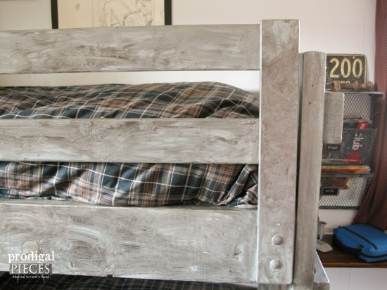 Faux Stainless Steel Bunk Beds by Prodigal Pieces | prodigalpieces.com