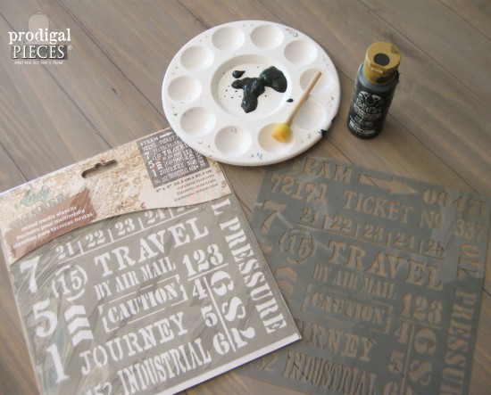 Faux industrial shipping crate table Get the DIY tutorial from Prodigal Pieces | prodigalpieces.com #prodigalpieces