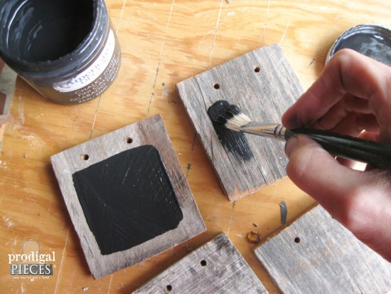 Painting DIY Chalkboards | Prodigal Pieces | www.prodigalpieces.com