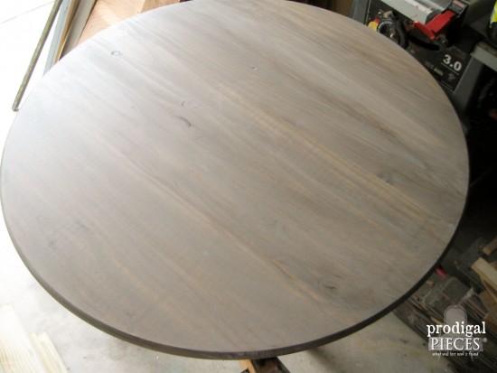 Glazed DIY Table | prodigalpieces.com