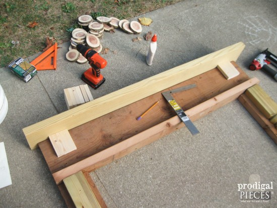 Reclaimed Wood Mantel | prodigalpieces.com