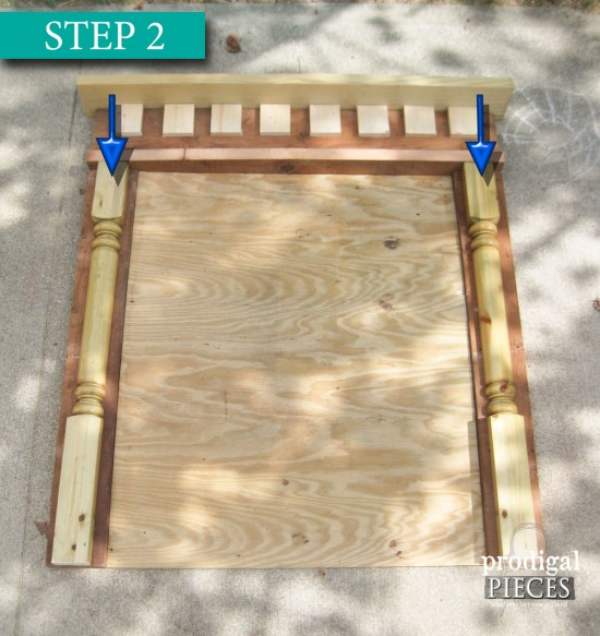 Creating DIY Faux Fireplace with Cast Off Wood by Prodigal Pieces | prodigalpieces.com