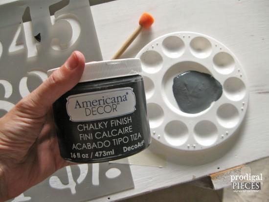 DecoArt Chalky Finish Paint | prodigalpieces.com