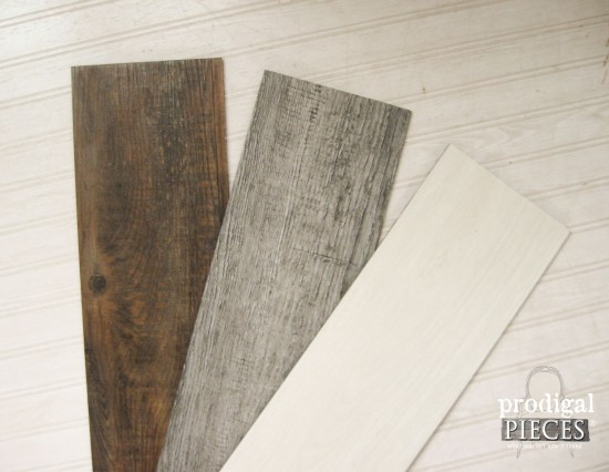 Faux Vinyl Barn Wood Flooring for Wall Quilt | Prodigal Pieces | www.prodigalpieces.com