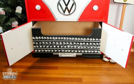 Open Volkswagen Bus Chest by Prodigal Pieces   prodigalpieces.com