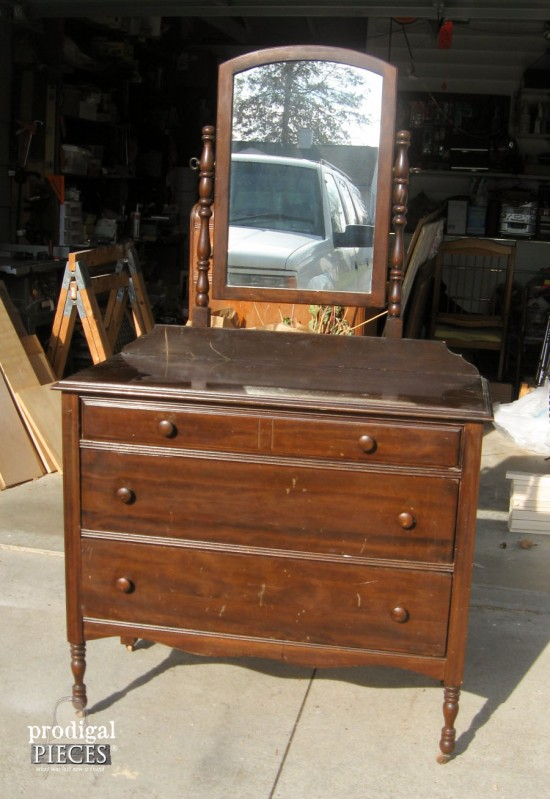 100 an antique desk makeover prodigal pieces updated furnit