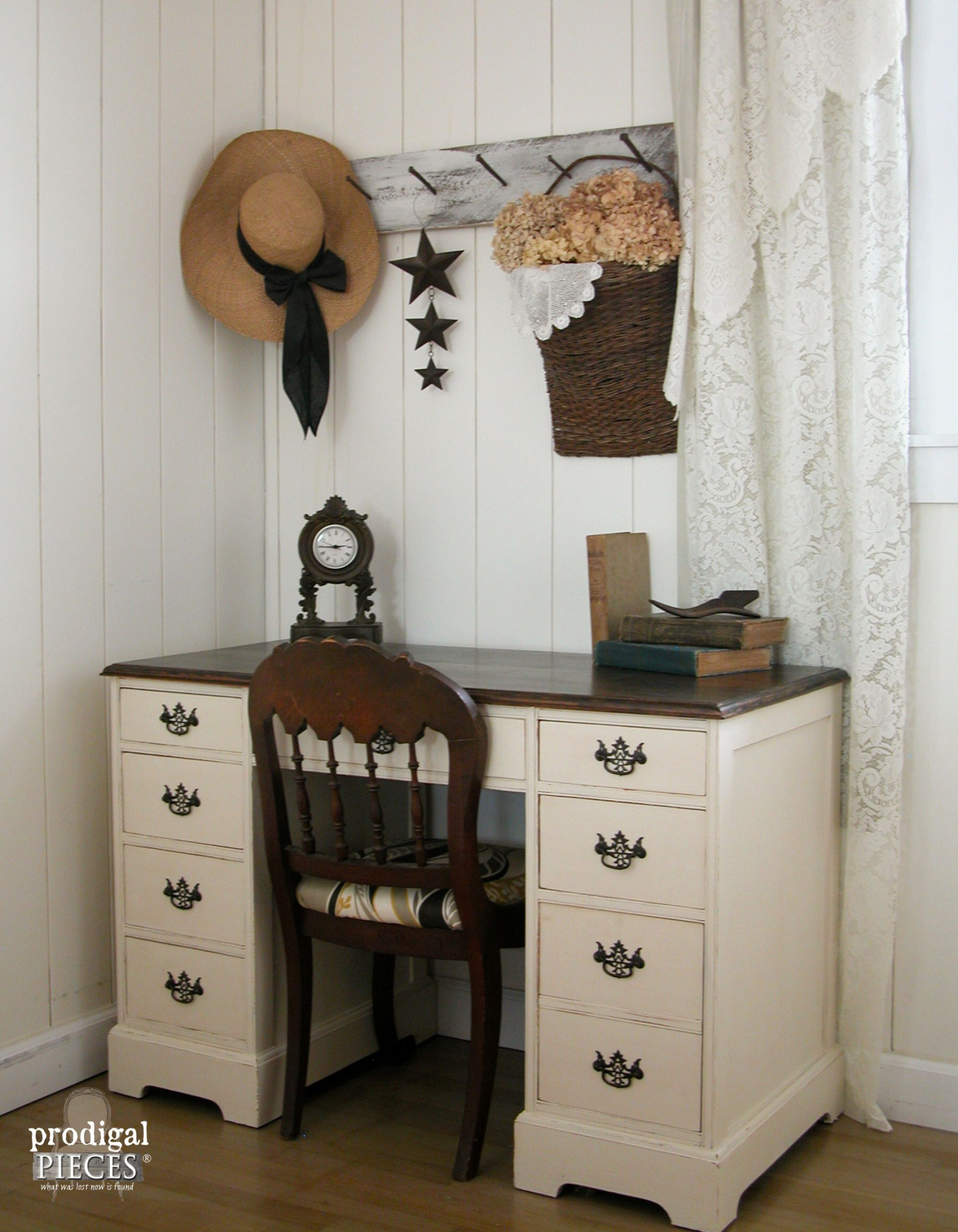 Vintage Desk Restored by Teen Boy Featured by Prodigal Pieces | www.prodigalpieces.com