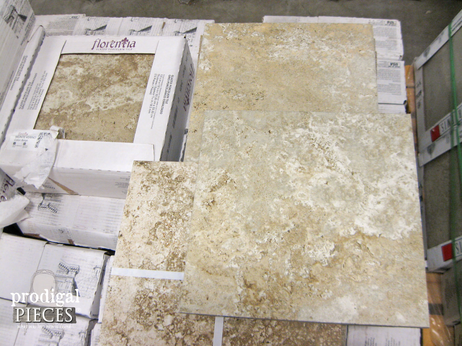 Choosing Flooring ~ A Stone Look Porcelain Tile | Prodigal Pieces | prodigalpieces.com