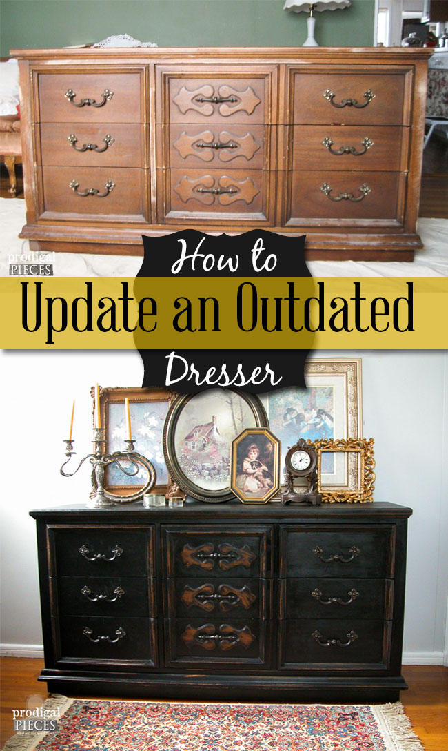 How to Update an Outdated Dresser | Prodigal Pieces | prodigalpieces.com