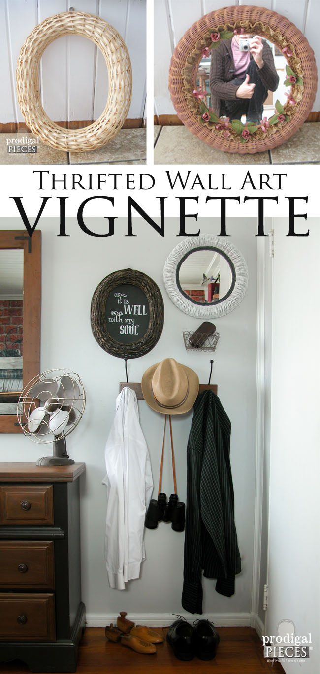 Create Your Own Wall Art with Thrifted Finds by Prodigal Pieces | www.prodigalpieces.com