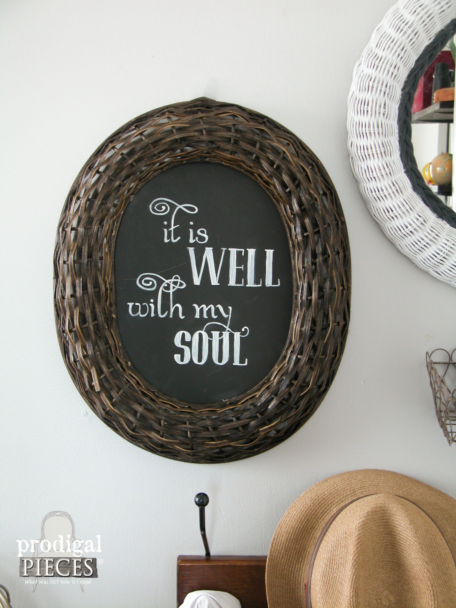 """It is Well with My Soul"" Wall Art by Prodigal Pieces 