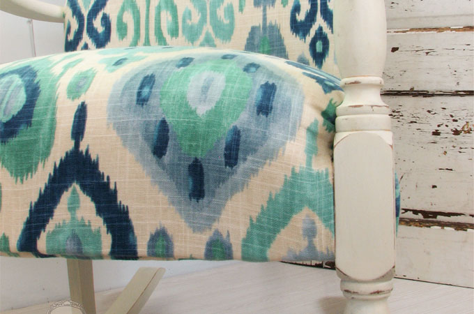 Ikat Rocking Chair by Prodigal Pieces | www.prodigalpieces.com