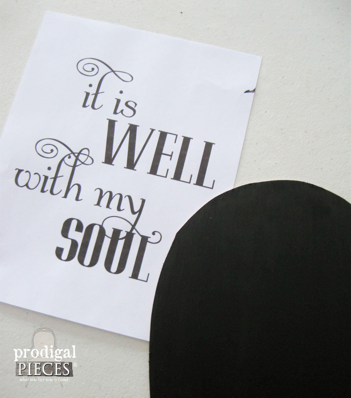 It is Well with My Soul Chalk Art by Prodigal Pieces | www.prodigalpieces.com