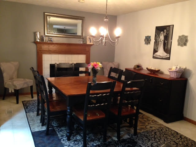 Client's Buffet in their Dining Room | Prodigal Pieces | www.prodigalpieces.com