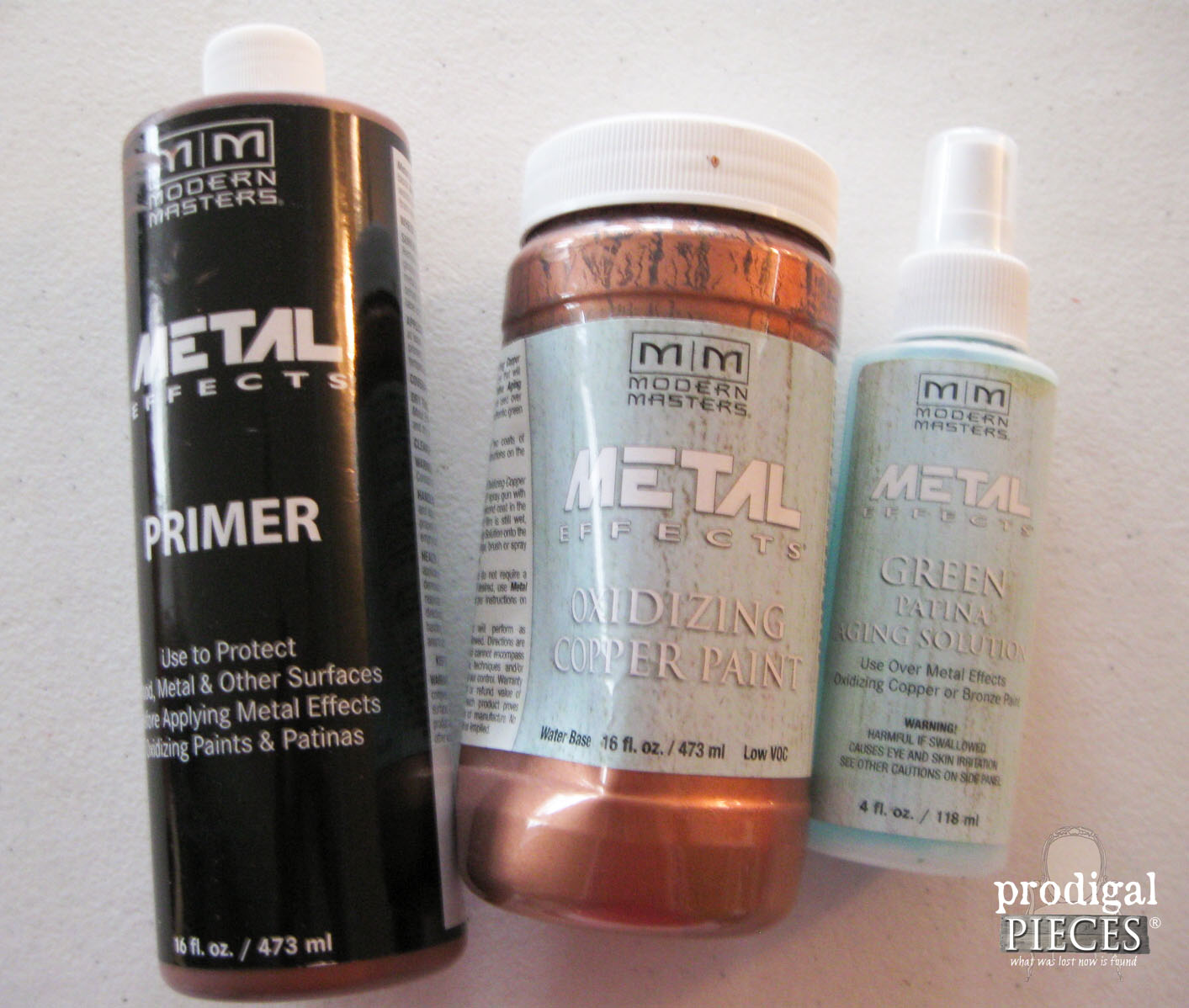 Modern Masters Metal Effects Copper Paint | Prodigal Pieces | www.prodigalpieces.com