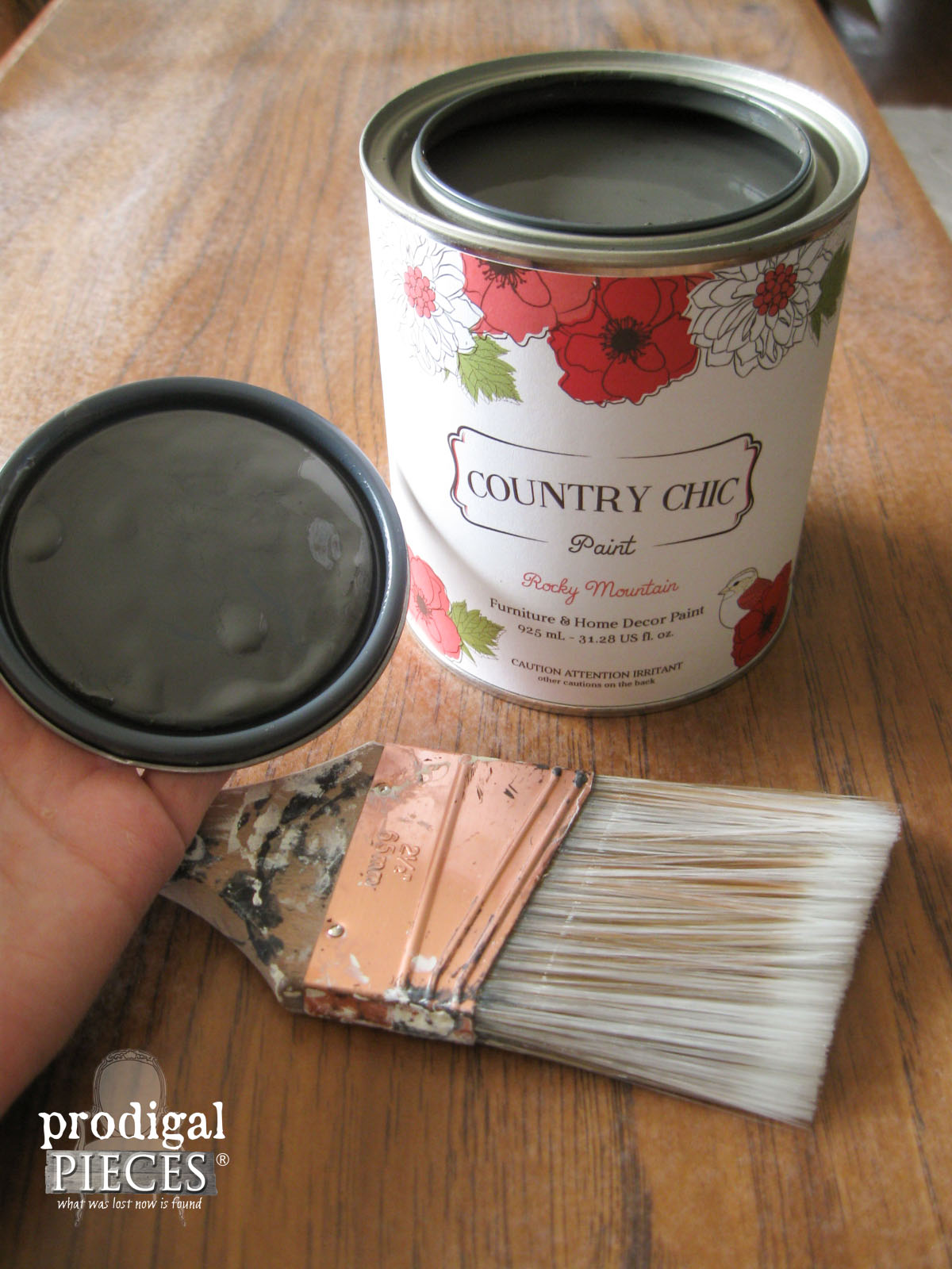Country Chic Paint in Bliss | Prodigal Pieces | www.prodigalpieces.com