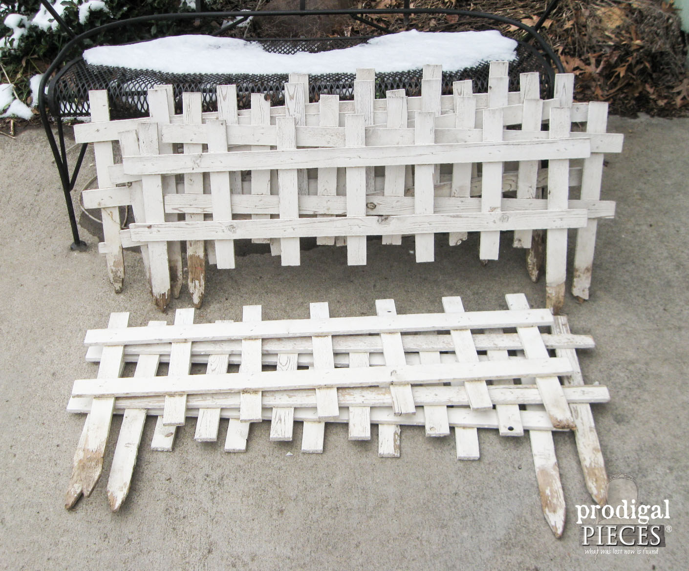 Curbside Garden Picket Fence found Curbside by Prodigal Pieces | www.prodigalpieces.com