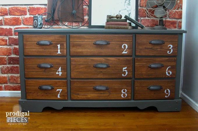 Vintage Dresser Makeover by Prodigal Pieces | www.prodigalpieces.com