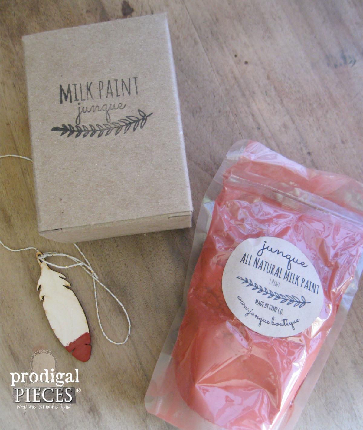 Junque Milk Paint in Rust Belt Red | Prodigal Pieces | www.prodigalpieces.com