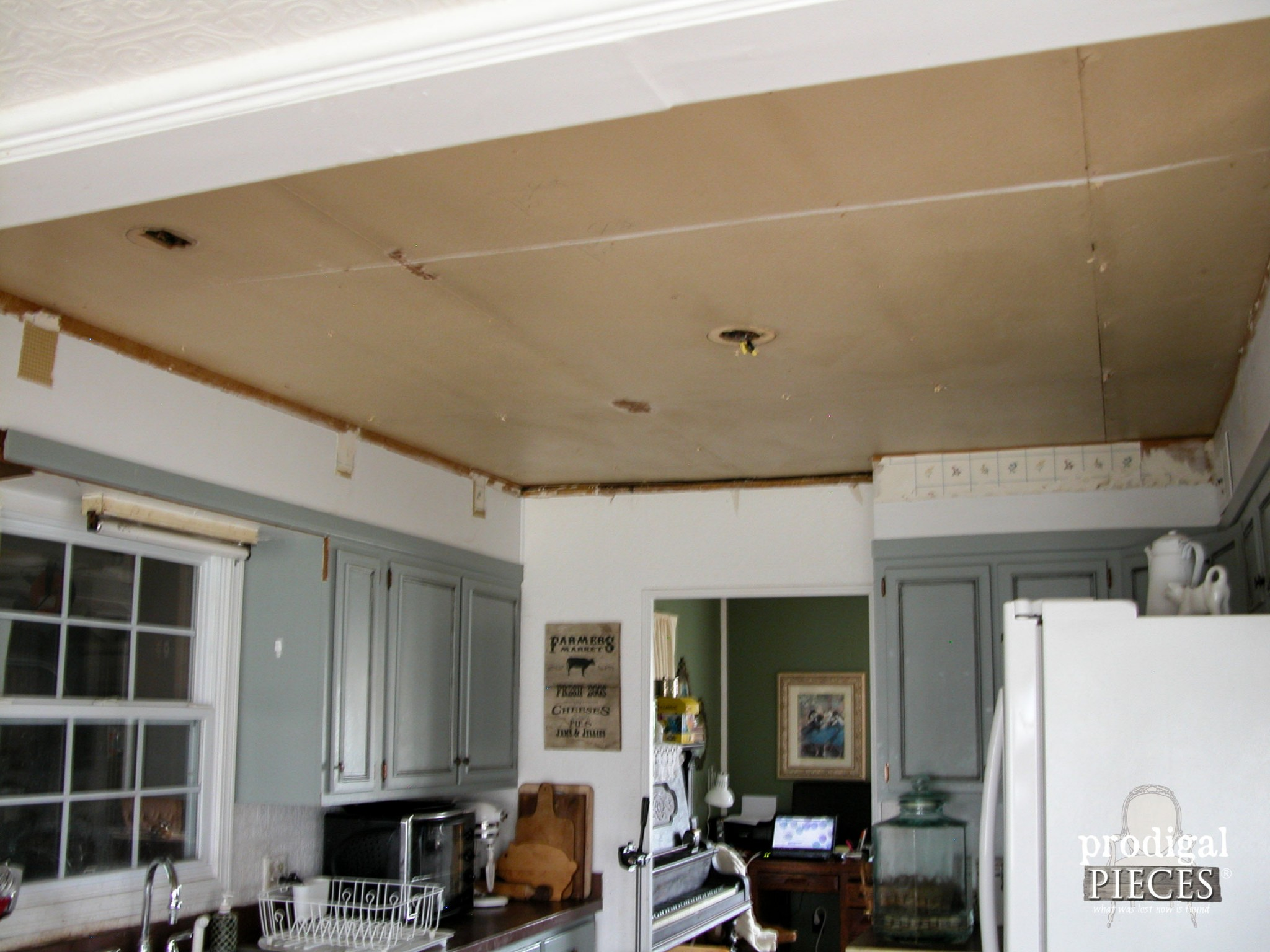 Kitchen Ceiling Restoration | Prodigal Pieces | www.prodigalpieces.com