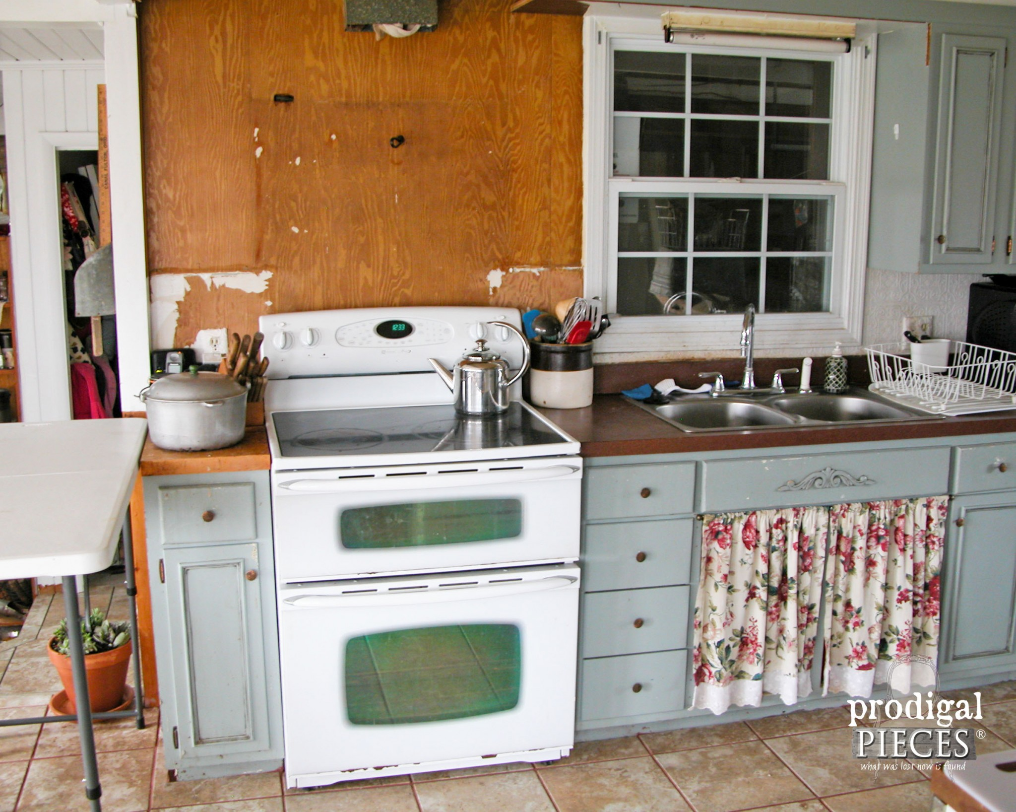 Electric Range Being Replaced by Gas Cooktop | Prodigal Pieces | www.prodigalpieces.com